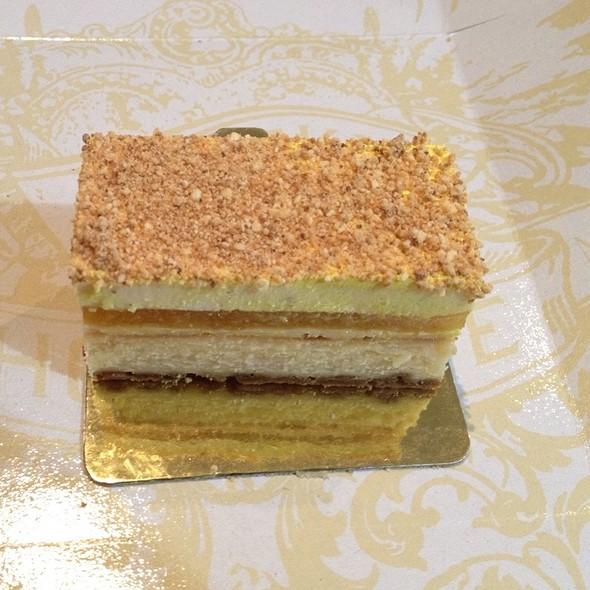 White Chocolate And Passionfruit Cheesecake @ Cheeky Chocolate
