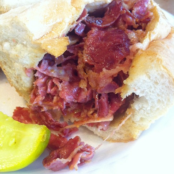 Hot Pastrami @ The Skinny Chef Inc