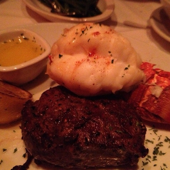 Filet And Lobster @ Fleming's Prime Steakhouse
