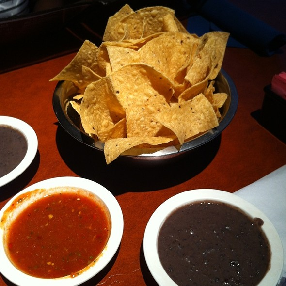 Complimentary Chips & Salsa @ Lupe's Tex Mex Grill
