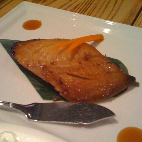 Black Cod With Miso @ Matsuhisa