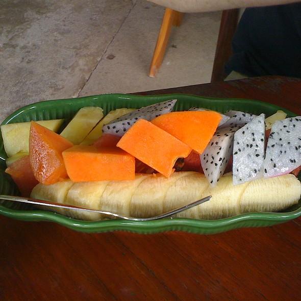 Mixed Fruit Salad @ Ban Thai
