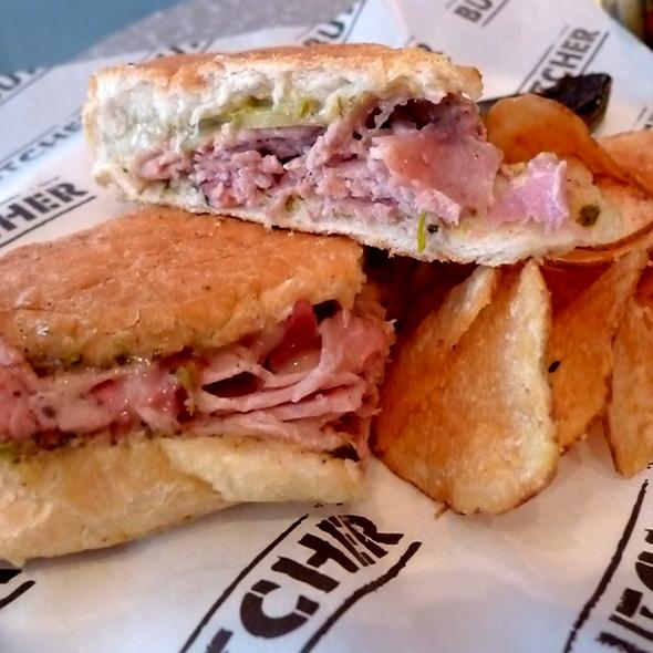 Cochon du lait cuban sandwich @ Mosmans Restaurant