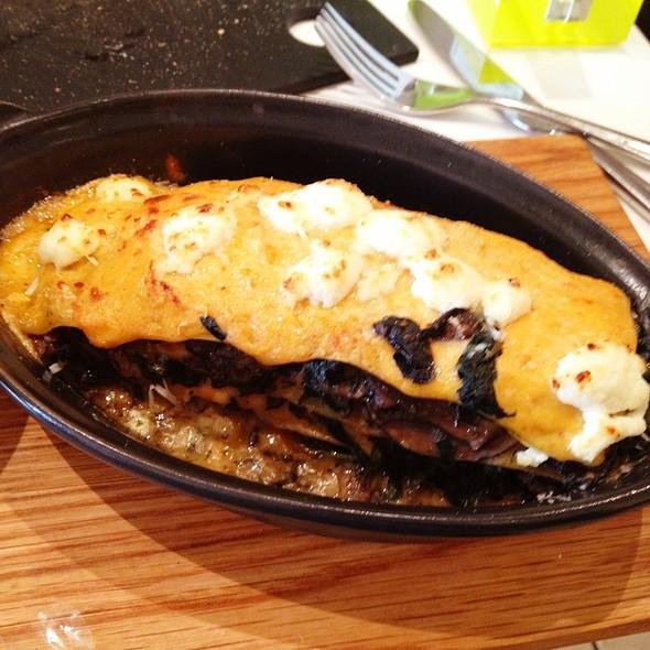 lasagna @ ASK Restaurant Ipswich