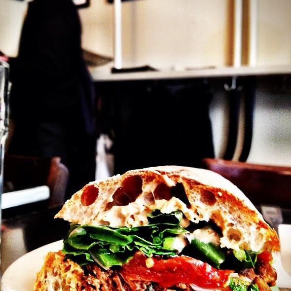 Lamb Sandwich @ Snack