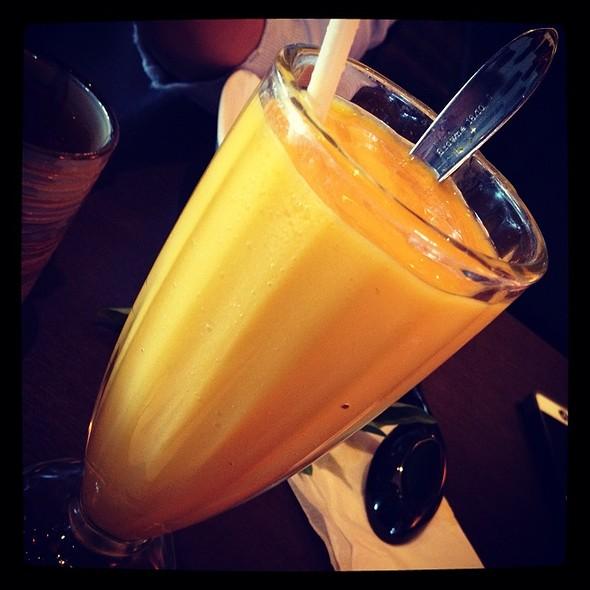 Fresh Mango Fruit Shake @ Ben Thanh Restaurant Inc