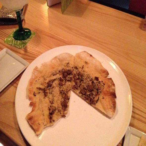 Vegan Pizza Yummmmm @ Next Door Bar & Grill