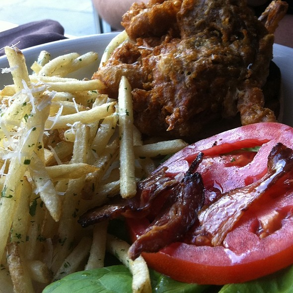 Soft Shell Crab Blt @ The Macintosh