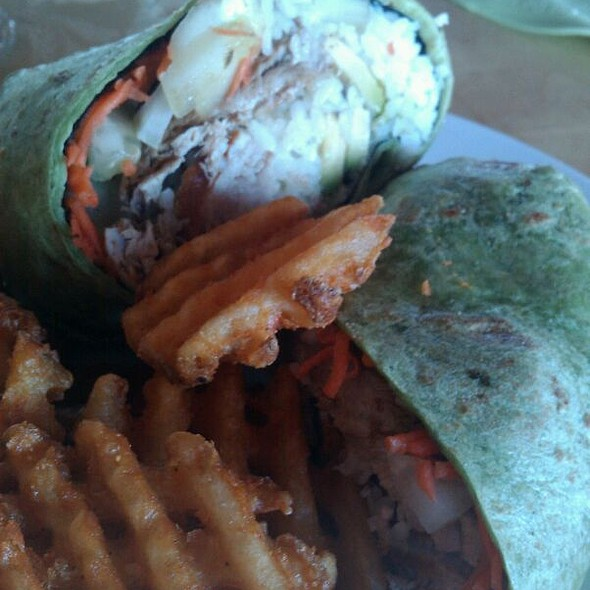 California Ahi Nori Wrap @ Olympia Cafe