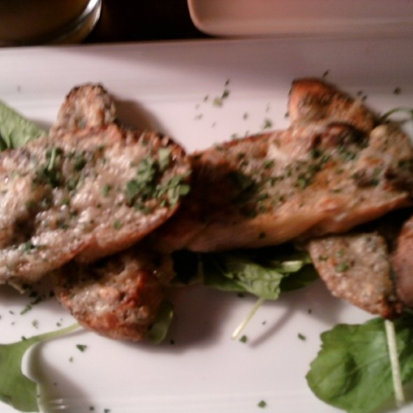 gorgonzola bruschetta @ Silver Grille