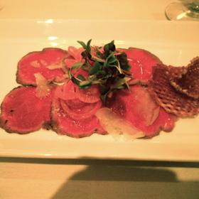 Alberta beef carpaccio