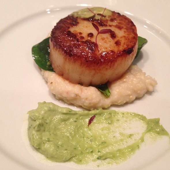 Scallops @ Bliss