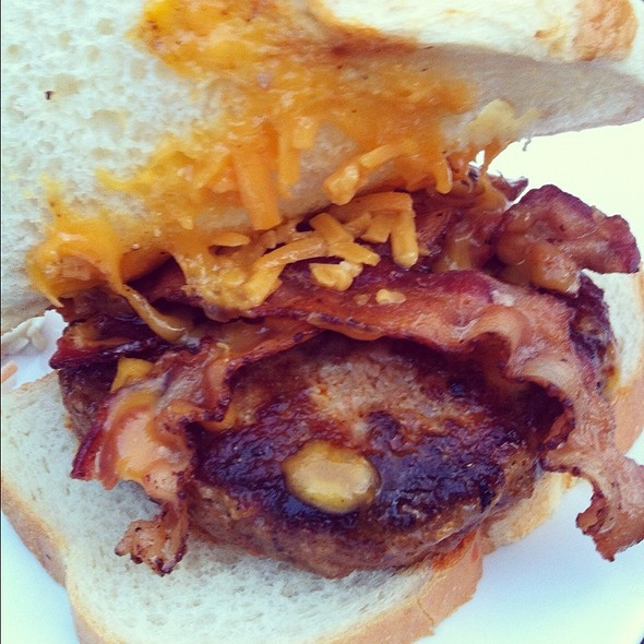 Big Bad Wolf Burger @ J Brians Tap Room