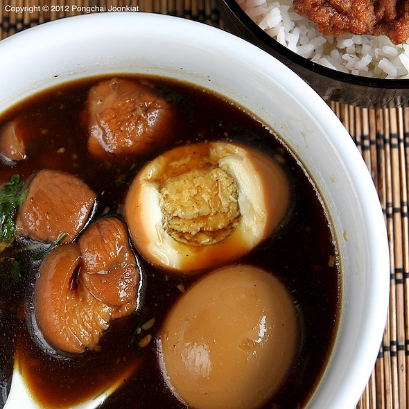 Stewed Pork Belly And Egg With Five Spices | ไข่พะโล้หมูสามชั้น