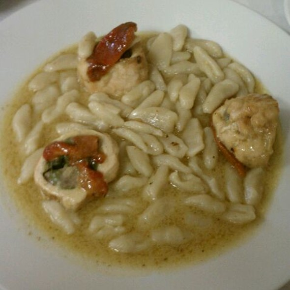 Stuffed Chicken With Cavatelli @ Gio's Cafe and Deli