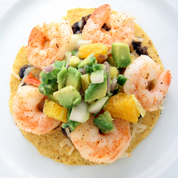 Crayfish and Prawn Salad with Butterbeans @ Gourmet Recipe