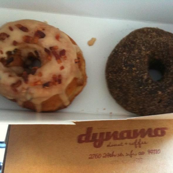 Spiced chocolate donuts @ Dynamo Donut & Coffee