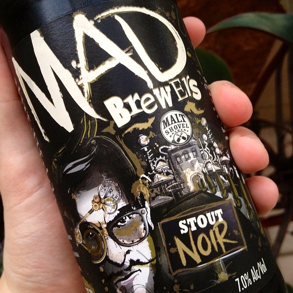Mad Brewer's Noir Stout @ Platinum Liquor