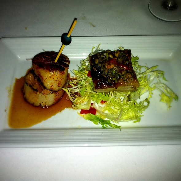 Roasted Pork Belly - Top of the World Restaurant - Stratosphere Hotel, Las Vegas, NV