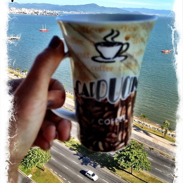 Cappuccino @ Varanda Do Porto Régio