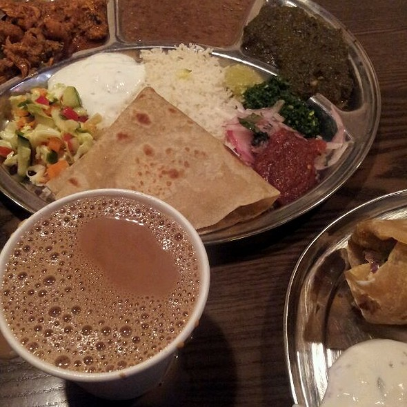 Thali Plate @ Kasa Indian Restaurant