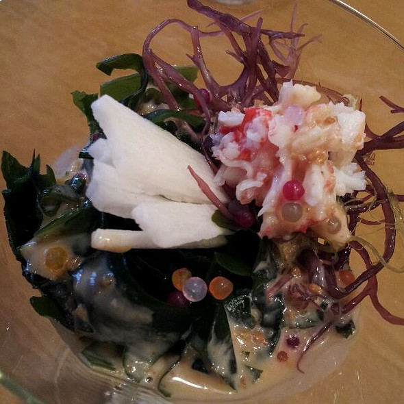 Seaweed And Crab Salad @ Aoyoma Japanese Restaurant