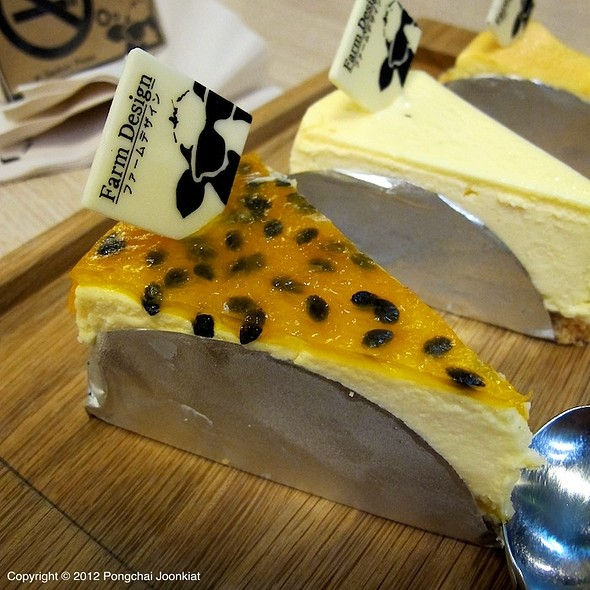 Passion Fruit Cheesecake @ Farm Design Hokkaido, Japan 1987