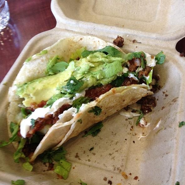 Bison Taco @ Fuel Cafe