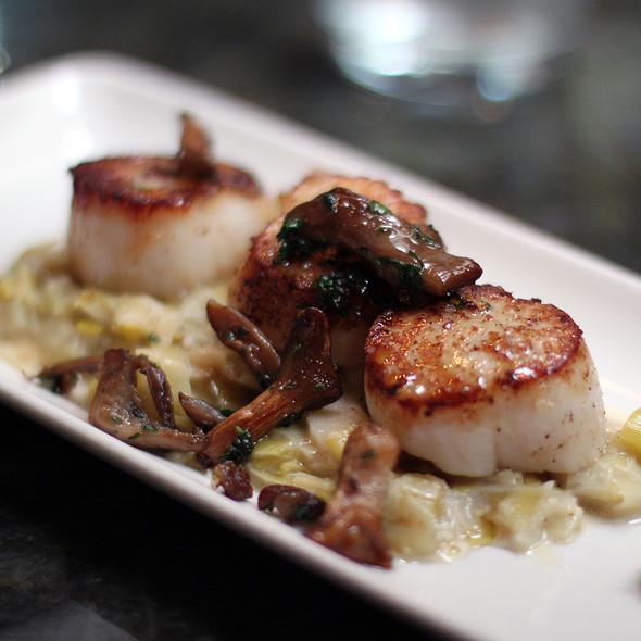 Seared Scallops @ Segovia Tapas Bar and Restaurant