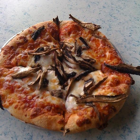 Pizza With Mushroomd @ Broad Ripple  Brewpub