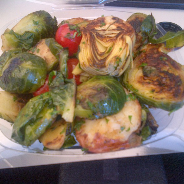Artichoke, potato and brussels sprout salad @ Frame Gourmet Eatery