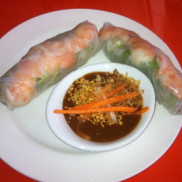 Shrimp Spring Rolls @ Dao Tien Vietnamese Bistro