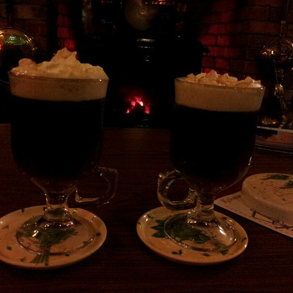 Irish Coffe (Special) at the Fire Place @ Kylemore Pass Hotel