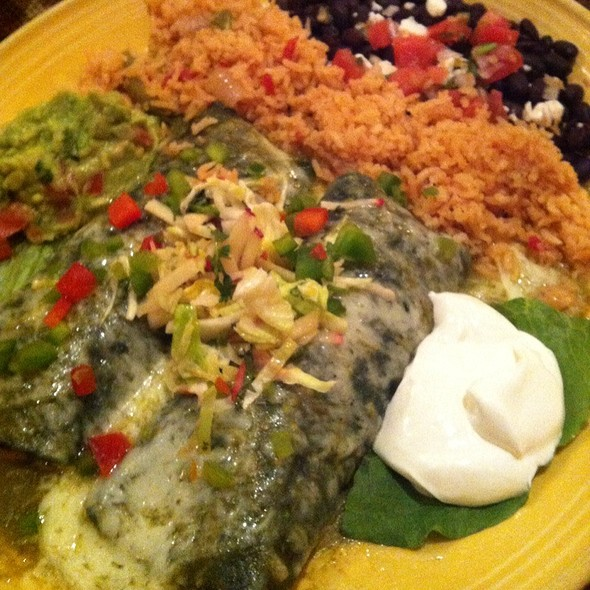 Blue Corn Chicken Enchiladas @ El Cholo Restaurant