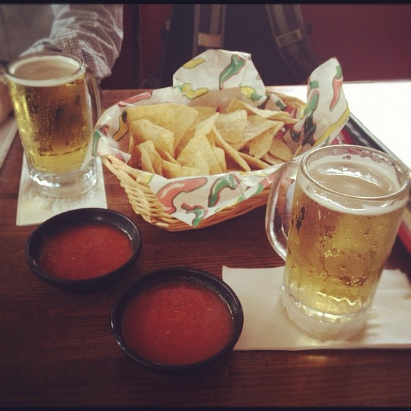 Chips and Salsa @ Tios Mexican Cafe