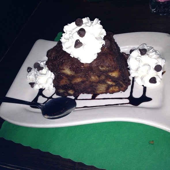 Chocolate Bread Pudding @ Piper's Kilt of Inwood Inc