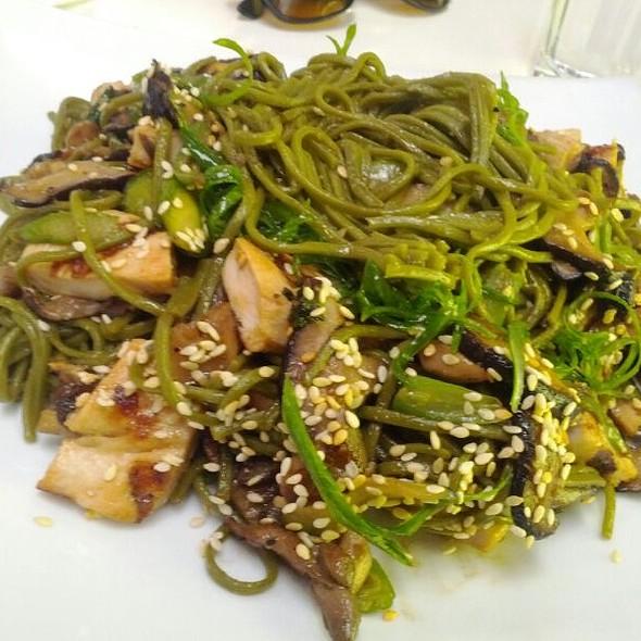Green Tea Soba Noodle @ Royal/T
