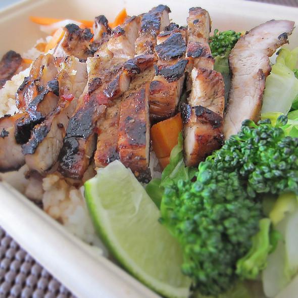 Asian Box Pork @ Asian Box