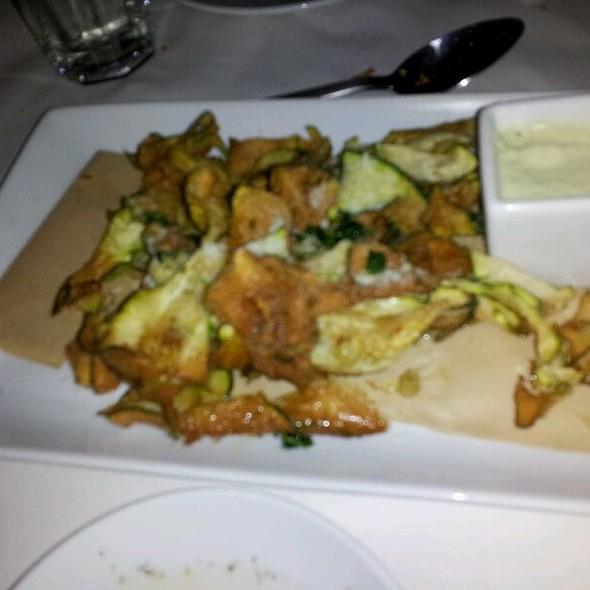 Zucchini and Parmigiano Fritters @ Romano's Macaroni Grill