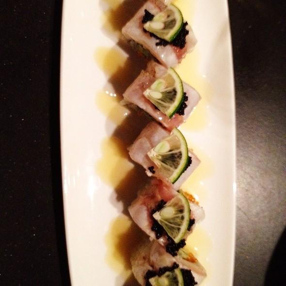 Sudachi And Seared Hamachi Maki - Oishii Boston, Boston, MA