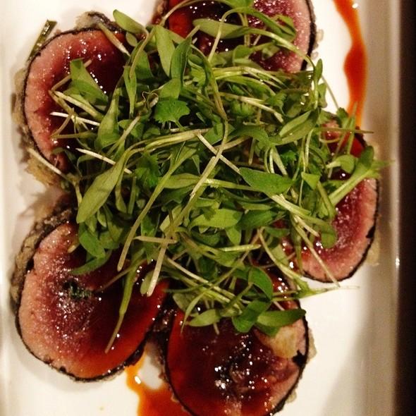 Spicy Tuna Tempura Maki - Oishii Boston, Boston, MA