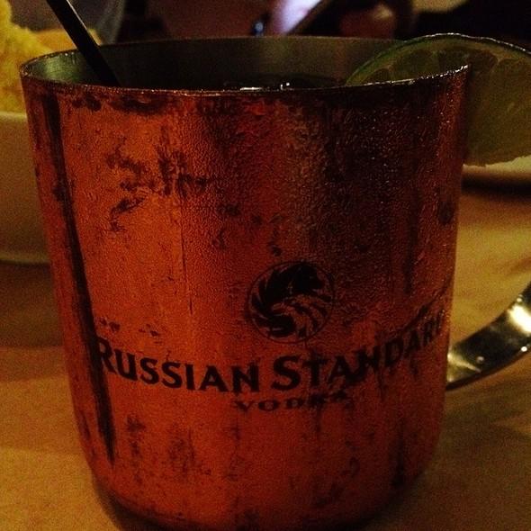 Moscow Mule Cocktail @ Goin' Coastal Virginia Highlands