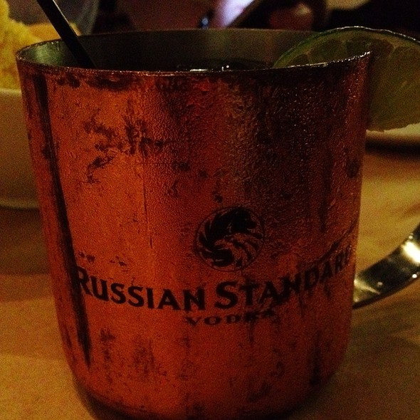 Moscow Mule Cocktail @ Goin' Coastal Virginia Highlands