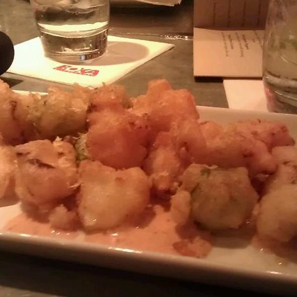 Crispy Cauliflower And Olives With Harissa Aioli @ Boka Kitchen & Bar