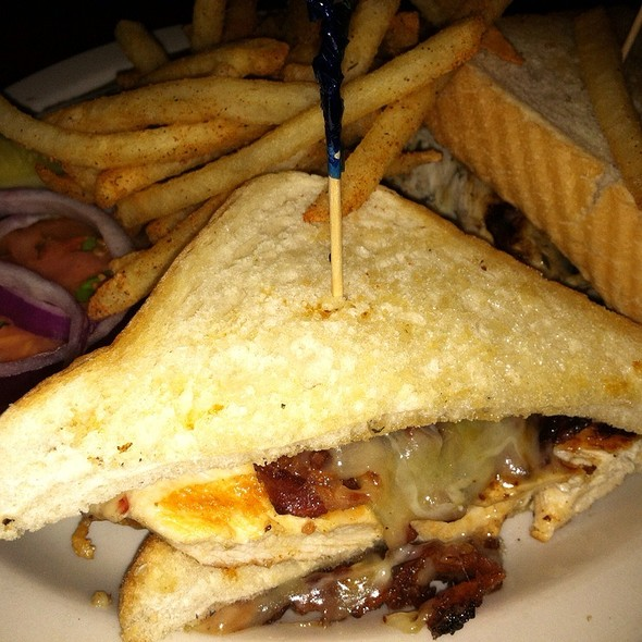 Grilled Smoked Chicken Sandwich  @ Fuel Woodfire Grill