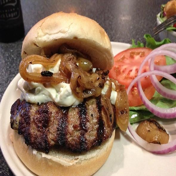 Baja Burger @ Gourmet Burger Grill