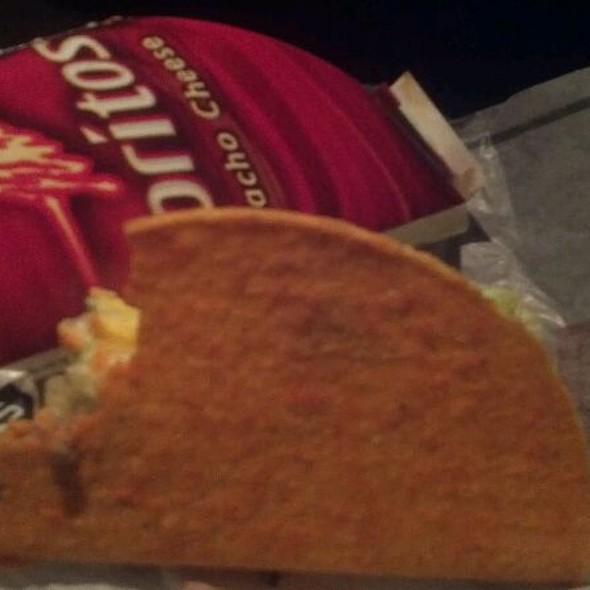 Dorito Locos Tacos @ Taco Bell