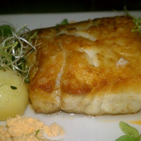 Pan Roasted Local Fish @ Saltbox Restaurant