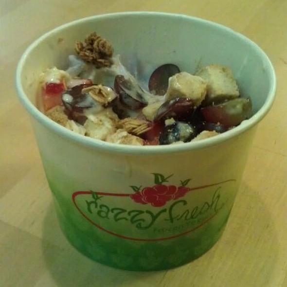 Frozen Yogurt @ Razzy Fresh