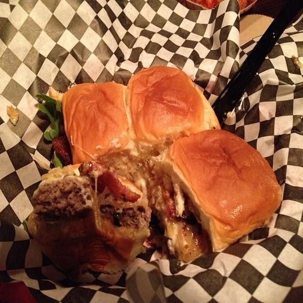 Blutarsky Burger @ Dog Haus Biergarten